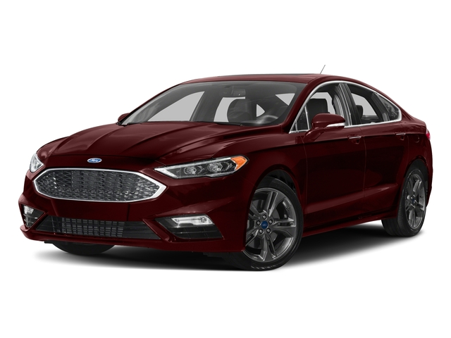Burgundy Velvet Metallic Tinted Clearcoat 2018 Ford Fusion Pictures Fusion Sport AWD photos front view
