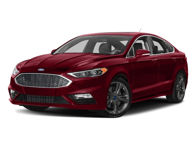 Ruby Red Metallic Tinted Clearcoat 2018 Ford Fusion Pictures Fusion Sport AWD photos front view