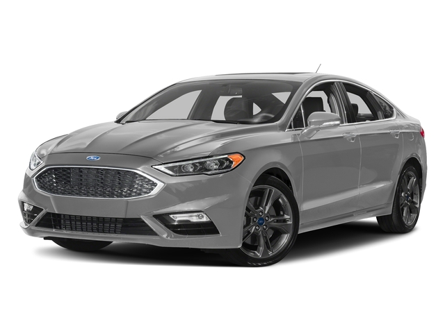 Ingot Silver Metallic 2018 Ford Fusion Pictures Fusion Sport AWD photos front view