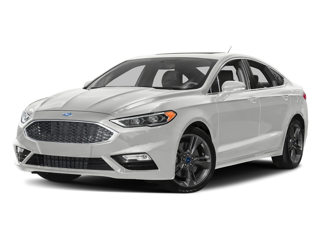 Oxford White 2018 Ford Fusion Pictures Fusion Sport AWD photos front view