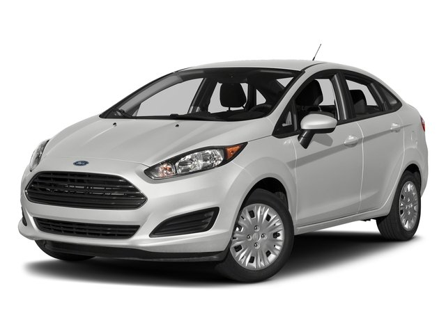 Oxford White 2018 Ford Fiesta Pictures Fiesta S Sedan photos front view