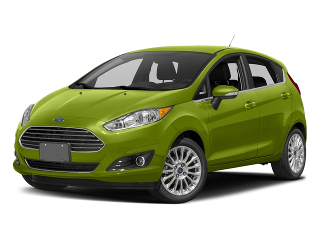 Outrageous Green Metallic Tinted Clearcoat 2018 Ford Fiesta Pictures Fiesta Titanium Hatch photos front view