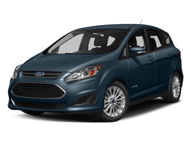 Blue Metallic 2018 Ford C-Max Hybrid Pictures C-Max Hybrid SE FWD photos front view