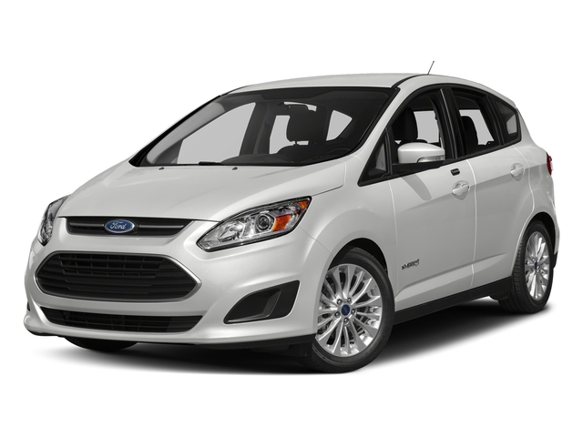 Oxford White 2018 Ford C-Max Hybrid Pictures C-Max Hybrid SE FWD photos front view