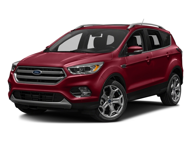 Ruby Red Metallic Tinted Clearcoat 2018 Ford Escape Pictures Escape Titanium FWD photos front view