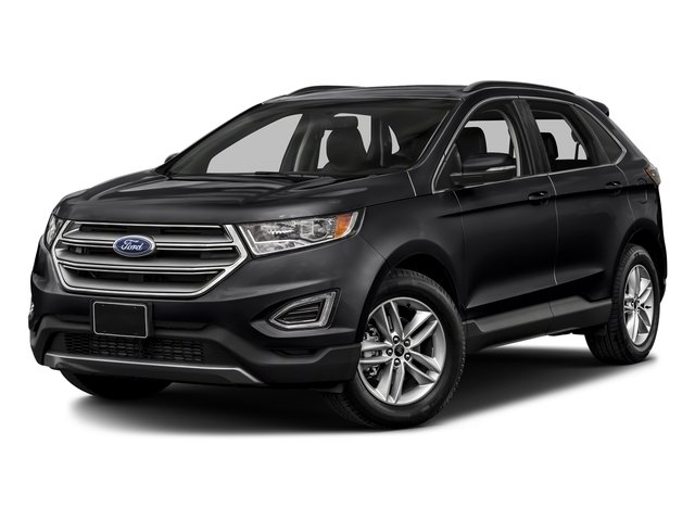 Shadow Black 2018 Ford Edge Pictures Edge Utility 4D SEL AWD I4 Turbo photos front view