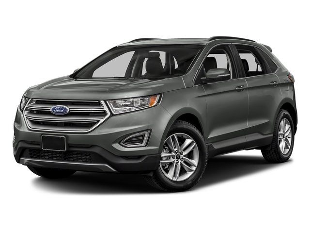 Magnetic Metallic 2018 Ford Edge Pictures Edge SE AWD photos front view