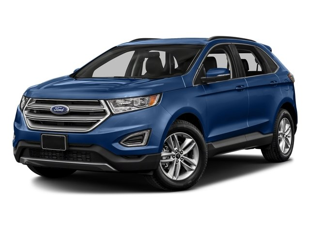 Lightning Blue Metallic 2018 Ford Edge Pictures Edge Utility 4D SEL AWD I4 Turbo photos front view