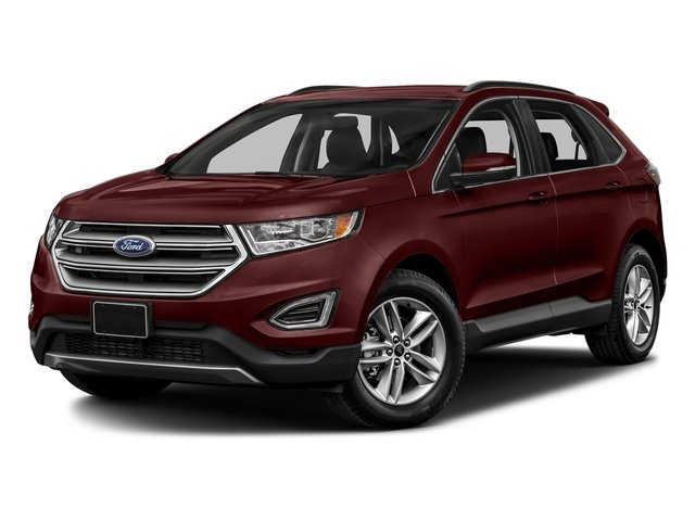 Burgundy Velvet Metallic Tinted Clearcoat 2018 Ford Edge Pictures Edge Utility 4D SEL AWD I4 Turbo photos front view
