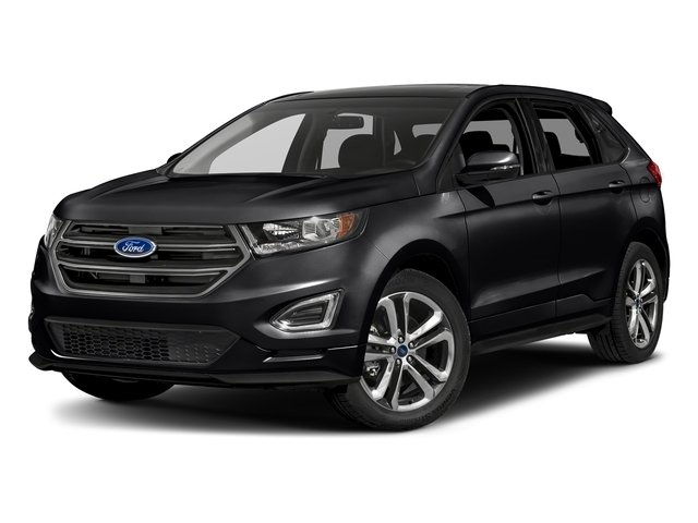 Shadow Black 2018 Ford Edge Pictures Edge Sport AWD photos front view