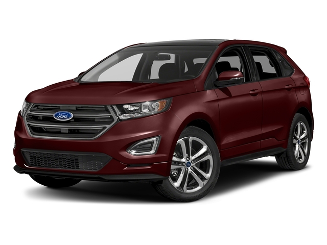 Burgundy Velvet Metallic Tinted Clearcoat 2018 Ford Edge Pictures Edge Sport AWD photos front view