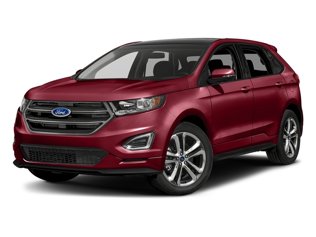Ruby Red Metallic Tinted Clearcoat 2018 Ford Edge Pictures Edge Sport AWD photos front view