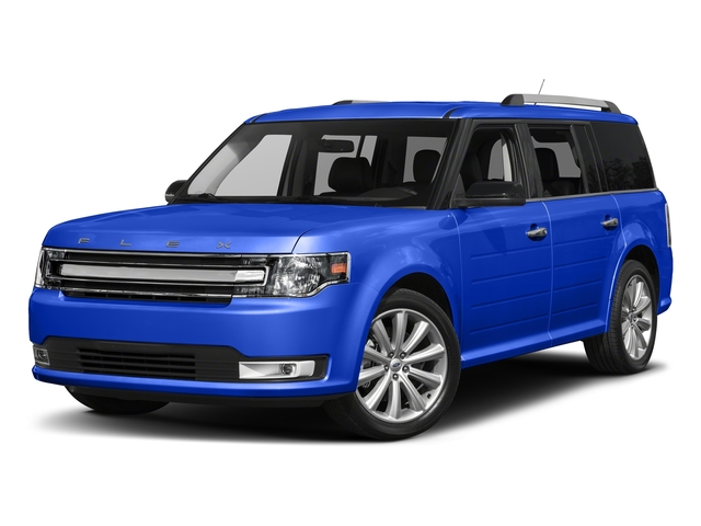 Blue Metallic 2018 Ford Flex Pictures Flex SE FWD photos front view