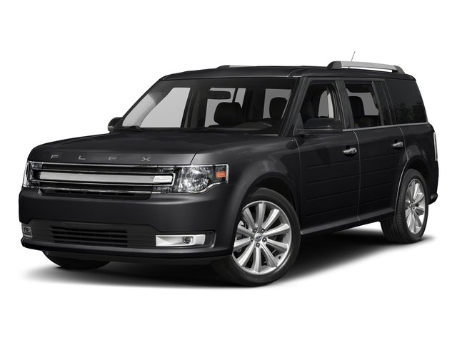 Shadow Black 2018 Ford Flex Pictures Flex SE FWD photos front view