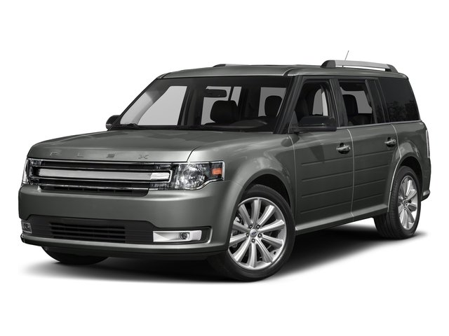 Magnetic Metallic 2018 Ford Flex Pictures Flex SE FWD photos front view