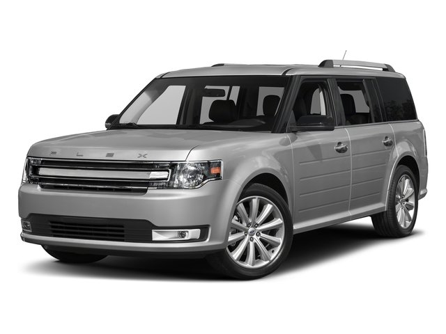 Ingot Silver Metallic 2018 Ford Flex Pictures Flex SE FWD photos front view