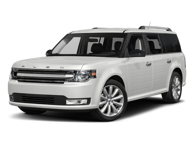 Oxford White 2018 Ford Flex Pictures Flex SE FWD photos front view