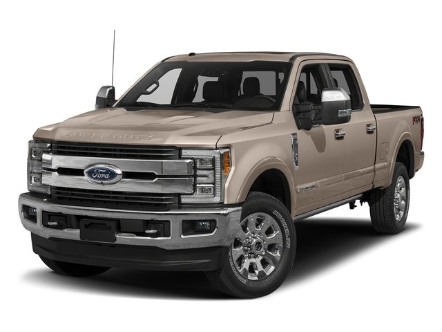 White Gold Metallic 2018 Ford Super Duty F-250 SRW Pictures Super Duty F-250 SRW Crew Cab King Ranch 4WD photos front view