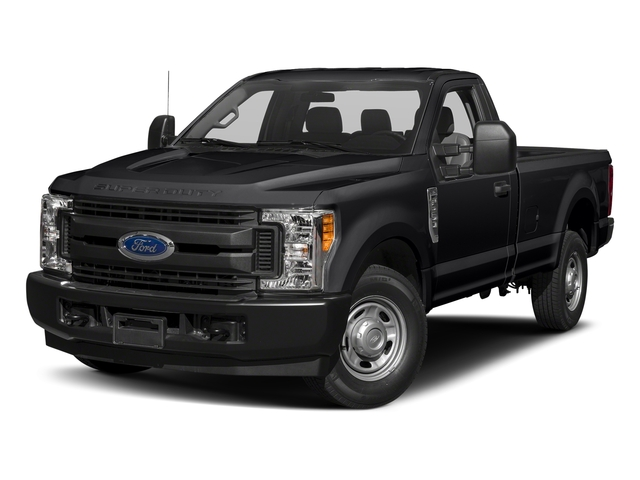 Shadow Black 2018 Ford Super Duty F-250 SRW Pictures Super Duty F-250 SRW XL 2WD Reg Cab 8' Box photos front view