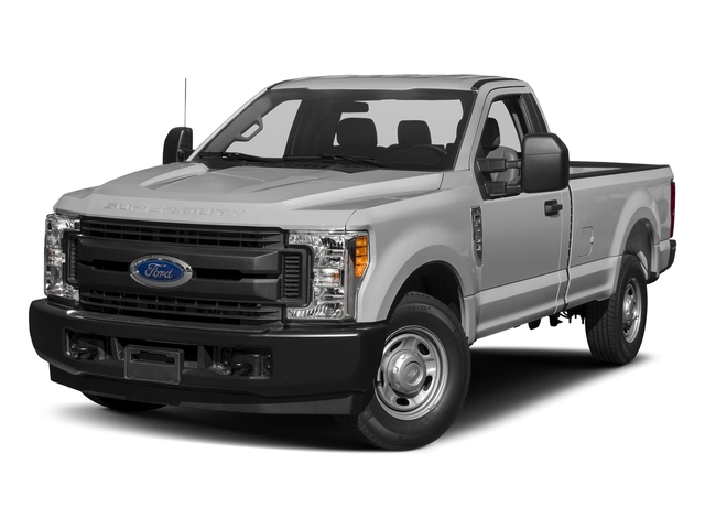 Ingot Silver Metallic 2018 Ford Super Duty F-250 SRW Pictures Super Duty F-250 SRW XL 2WD Reg Cab 8' Box photos front view