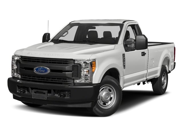 Oxford White 2018 Ford Super Duty F-250 SRW Pictures Super Duty F-250 SRW XL 2WD Reg Cab 8' Box photos front view