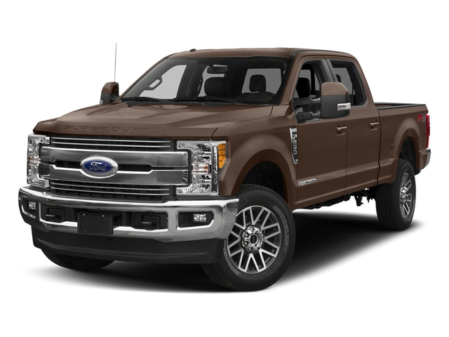 Stone Gray Metallic 2018 Ford Super Duty F-250 SRW Pictures Super Duty F-250 SRW LARIAT 2WD Crew Cab 6.75' Box photos front view