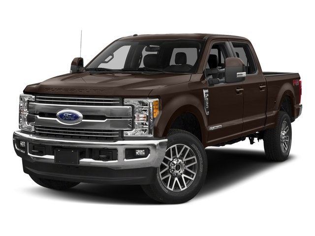 Magma Red Metallic 2018 Ford Super Duty F-350 SRW Pictures Super Duty F-350 SRW LARIAT 4WD Crew Cab 8' Box photos front view
