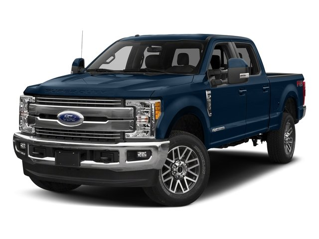 Blue Jeans Metallic 2018 Ford Super Duty F-350 SRW Pictures Super Duty F-350 SRW LARIAT 4WD Crew Cab 8' Box photos front view