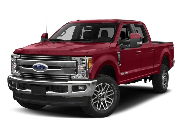 Ruby Red Metallic Tinted Clearcoat 2018 Ford Super Duty F-350 SRW Pictures Super Duty F-350 SRW LARIAT 4WD Crew Cab 8' Box photos front view