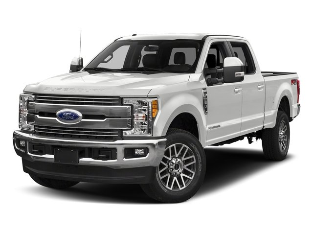 Oxford White 2018 Ford Super Duty F-250 SRW Pictures Super Duty F-250 SRW LARIAT 2WD Crew Cab 6.75' Box photos front view