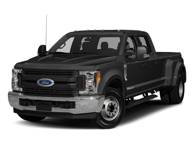 Magnetic Metallic 2018 Ford Super Duty F-350 DRW Pictures Super Duty F-350 DRW Crew Cab XL 2WD photos front view