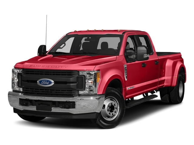 Race Red 2018 Ford Super Duty F-350 DRW Pictures Super Duty F-350 DRW Crew Cab XL 2WD photos front view