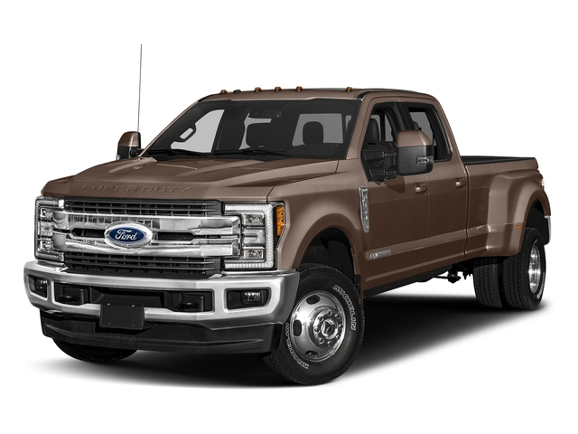 Stone Gray Metallic 2018 Ford Super Duty F-350 DRW Pictures Super Duty F-350 DRW Crew Cab King Ranch 2WD photos front view