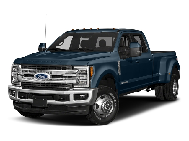 Blue Jeans Metallic 2018 Ford Super Duty F-350 DRW Pictures Super Duty F-350 DRW Crew Cab King Ranch 2WD photos front view