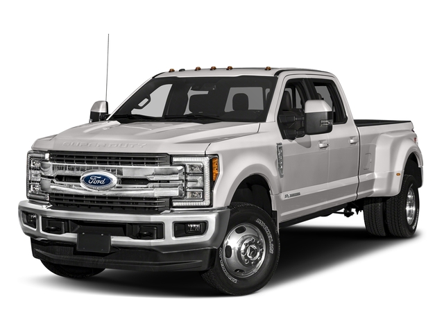 White Platinum Metallic Tri-Coat 2018 Ford Super Duty F-350 DRW Pictures Super Duty F-350 DRW Crew Cab King Ranch 2WD photos front view