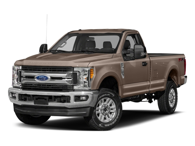 Stone Gray Metallic 2018 Ford Super Duty F-250 SRW Pictures Super Duty F-250 SRW XLT 2WD Reg Cab 8' Box photos front view