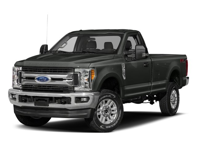 Magnetic Metallic 2018 Ford Super Duty F-250 SRW Pictures Super Duty F-250 SRW XLT 2WD Reg Cab 8' Box photos front view
