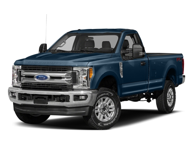 Blue Jeans Metallic 2018 Ford Super Duty F-250 SRW Pictures Super Duty F-250 SRW XLT 2WD Reg Cab 8' Box photos front view