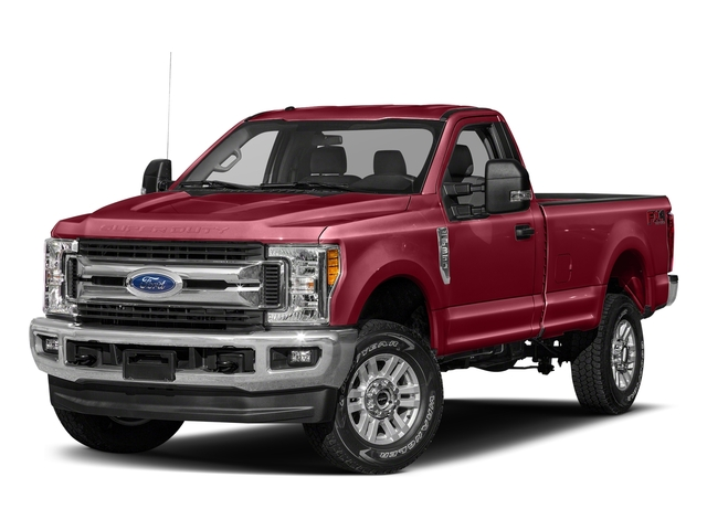 Ruby Red Metallic Tinted Clearcoat 2018 Ford Super Duty F-250 SRW Pictures Super Duty F-250 SRW XLT 2WD Reg Cab 8' Box photos front view