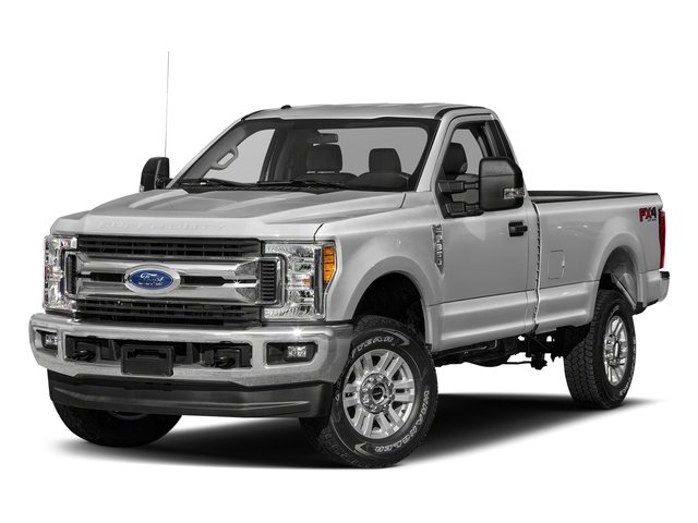 Ingot Silver Metallic 2018 Ford Super Duty F-250 SRW Pictures Super Duty F-250 SRW XLT 2WD Reg Cab 8' Box photos front view