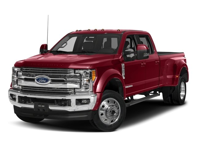Ruby Red Metallic Tinted Clearcoat 2018 Ford Super Duty F-450 DRW Pictures Super Duty F-450 DRW Crew Cab XLT 4WD T-Diesel photos front view
