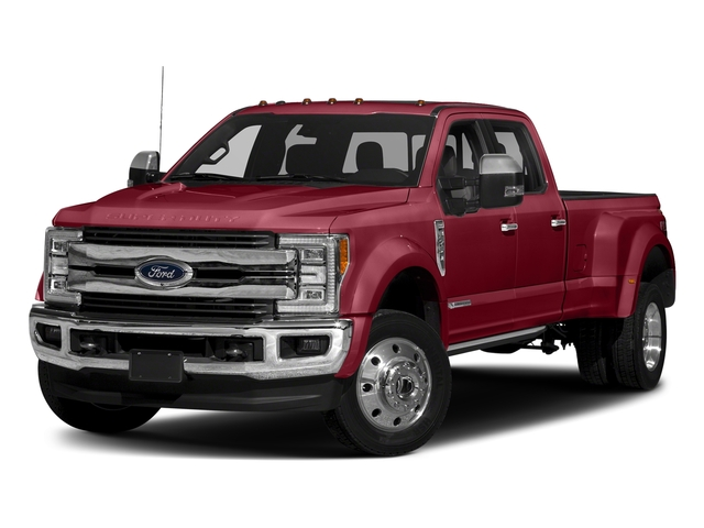 Ruby Red Metallic Tinted Clearcoat 2018 Ford Super Duty F-450 DRW Pictures Super Duty F-450 DRW Crew Cab King Ranch 2WD T-Diesel photos front view