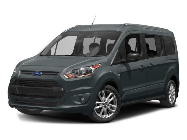 Guard Metallic 2018 Ford Transit Connect Wagon Pictures Transit Connect Wagon XLT SWB w/Rear Symmetrical Doors photos front view