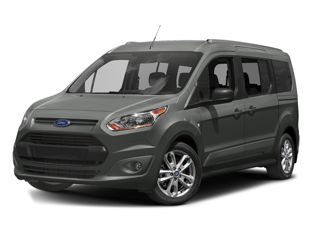 Magnetic Metallic 2018 Ford Transit Connect Wagon Pictures Transit Connect Wagon XLT SWB w/Rear Symmetrical Doors photos front view