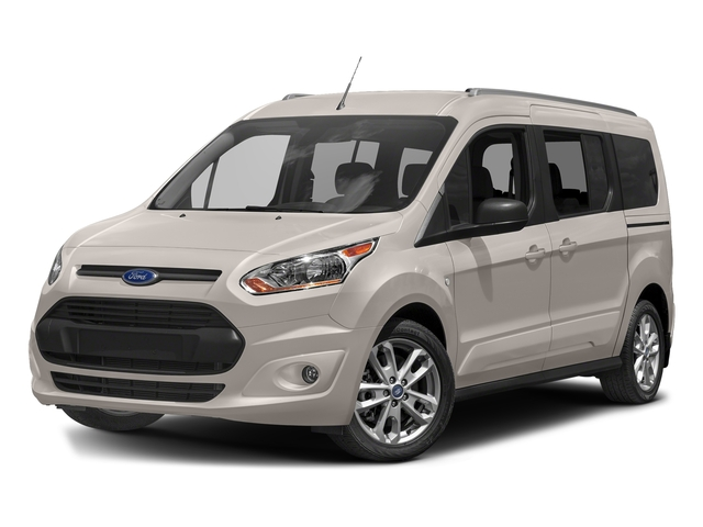 Silver Metallic 2018 Ford Transit Connect Wagon Pictures Transit Connect Wagon XLT SWB w/Rear Symmetrical Doors photos front view