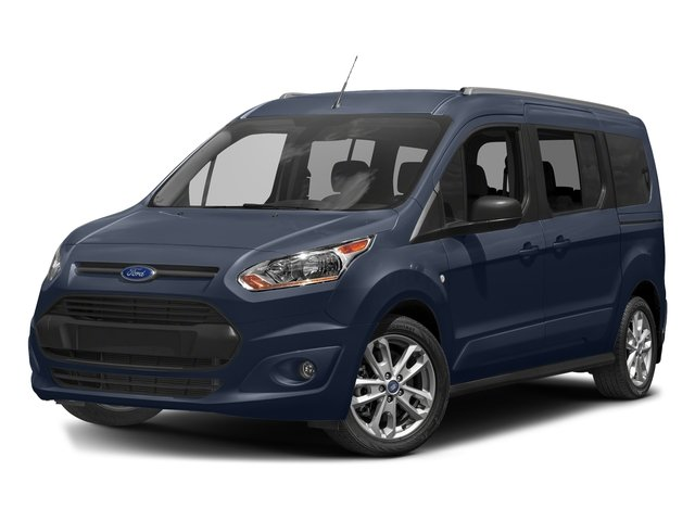 Dark Blue 2018 Ford Transit Connect Wagon Pictures Transit Connect Wagon XLT SWB w/Rear Symmetrical Doors photos front view