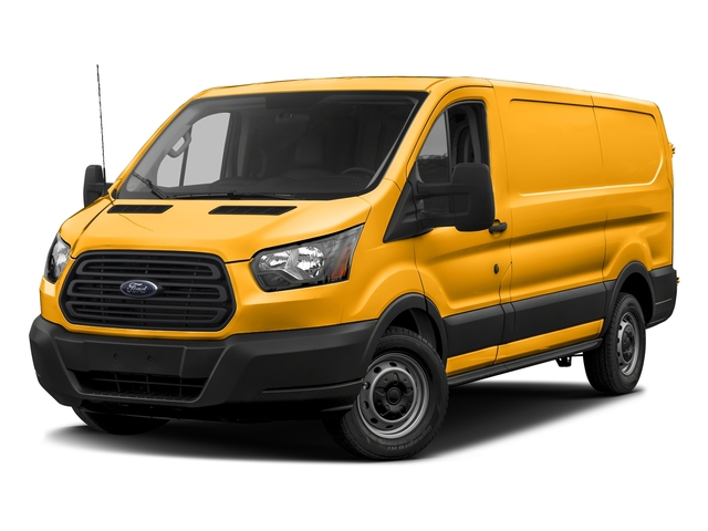 School Bus Yellow 2018 Ford Transit Van Pictures Transit Van T-150 130 Low Rf 8600 GVWR Swing-Out RH Dr photos front view