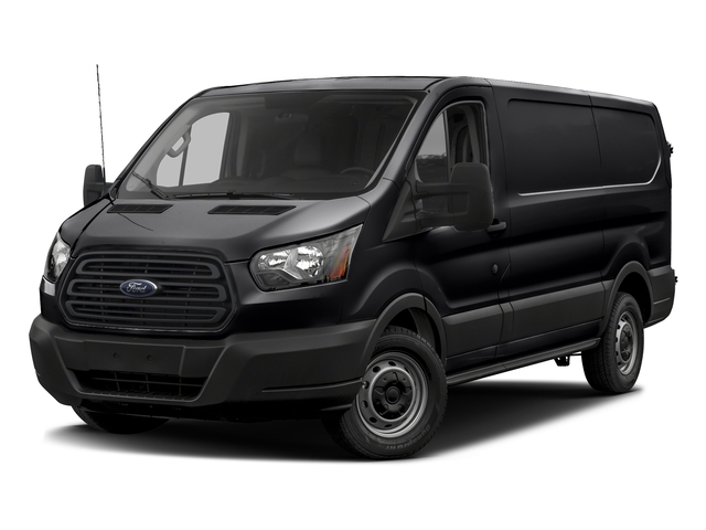 Shadow Black 2018 Ford Transit Van Pictures Transit Van T-150 130 Low Rf 8600 GVWR Swing-Out RH Dr photos front view