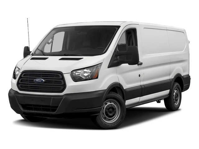 Oxford White 2018 Ford Transit Van Pictures Transit Van T-150 130 Low Rf 8600 GVWR Swing-Out RH Dr photos front view