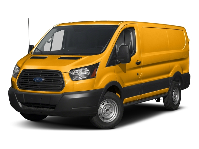 School Bus Yellow 2018 Ford Transit Van Pictures Transit Van T-250 130 Low Rf 9000 GVWR Swing-Out RH Dr photos front view